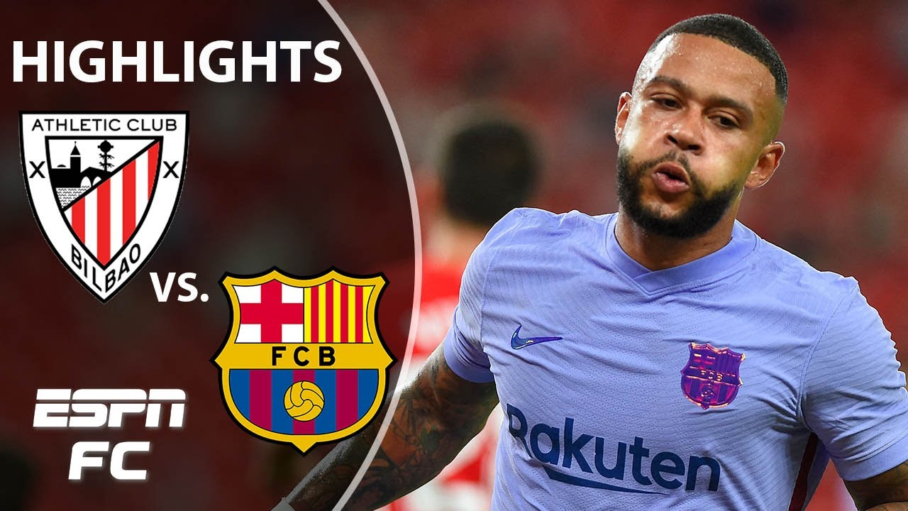 Depay's 1st goal for Barcelona earns 1-1 draw at Bilbao