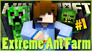 ЧЕТЫРЕ МИРА | EXTREME ANT FARM SURVIVAL MINECRAFT