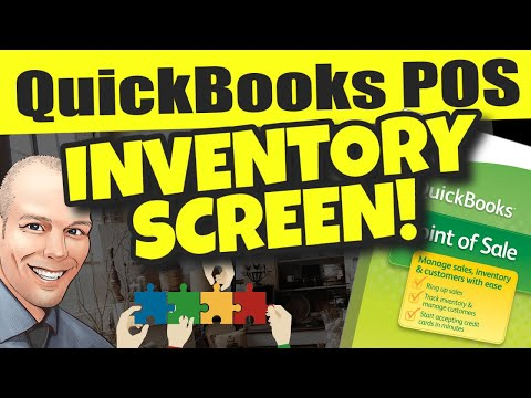 QuickBooks POS: Physical Inventory Screen Overview