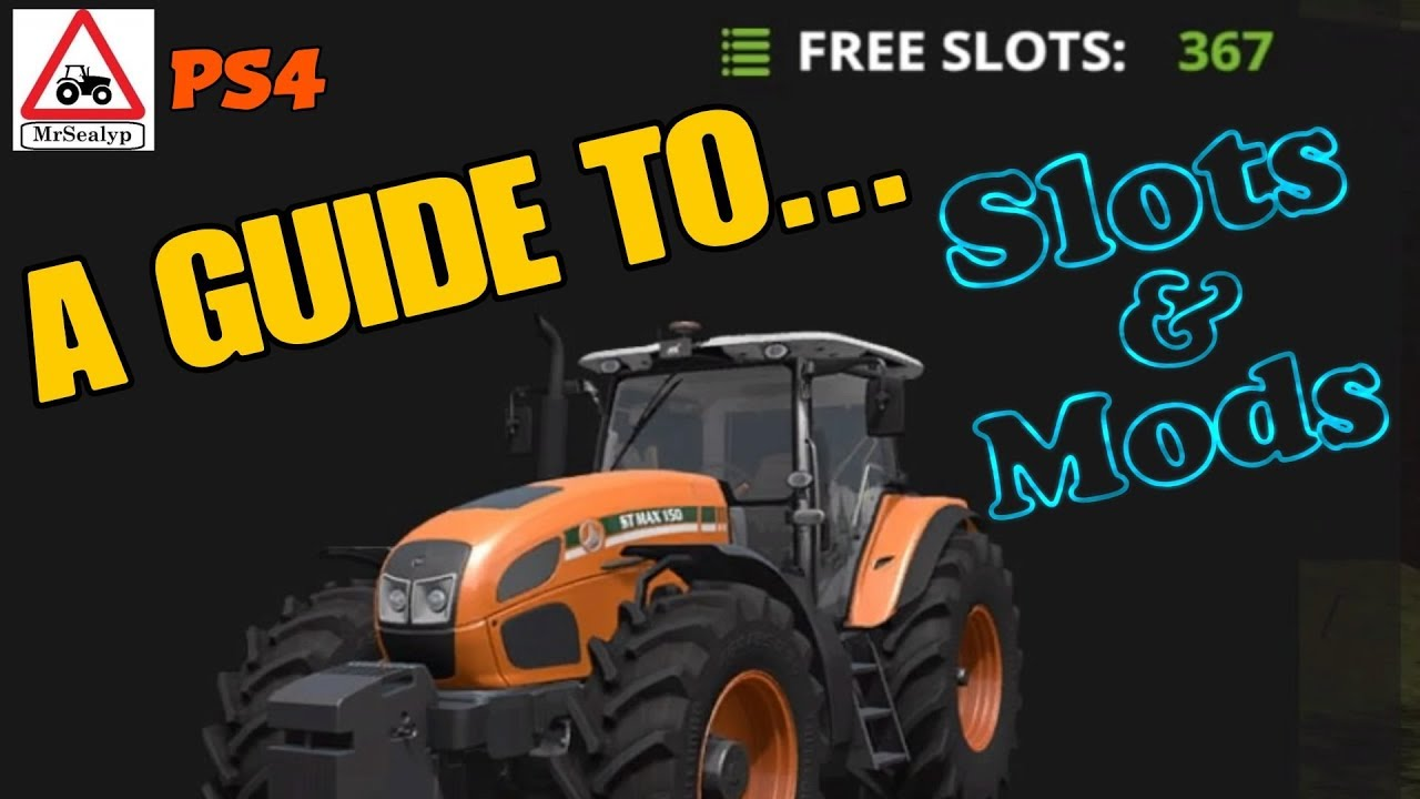 How to get more free slots in farming simulator piscine baccarat 54