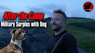 Where Did The Dog Come From?   After The Camp Military Surplus Adventure