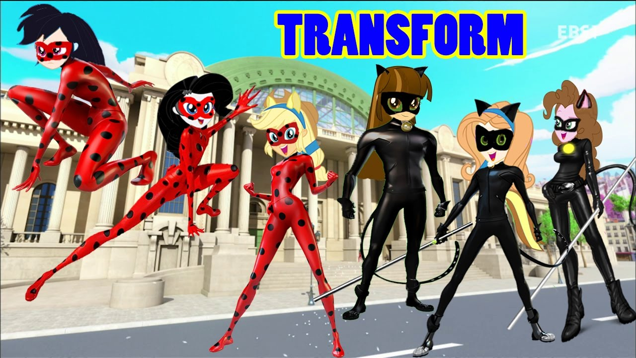 My little pony equestria girls transform into miraculous for Disegni miraculous da colorare
