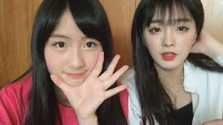 2018/05/01 NMB48 中野姉妹 SHOWROOM