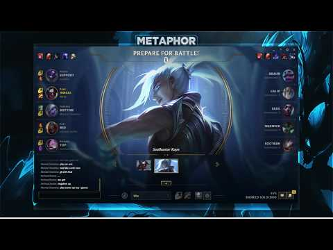 Metaphor - Challenger Kayn 1v9 (FULL GAME)
