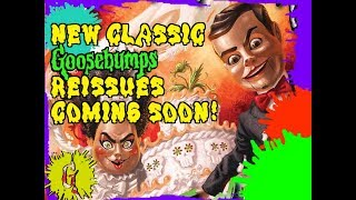New Classic Goosebumps Book Reissues Coming Soon!