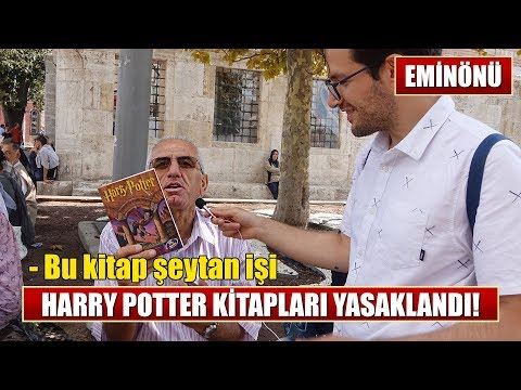 HARRY POTTER HABER BÜLTENİ | Harry Potter Yasaklandı! (Sokak Röportajı)