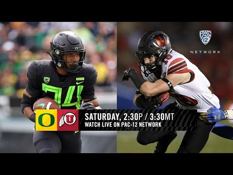 Oregon-Utah Football Game Preview