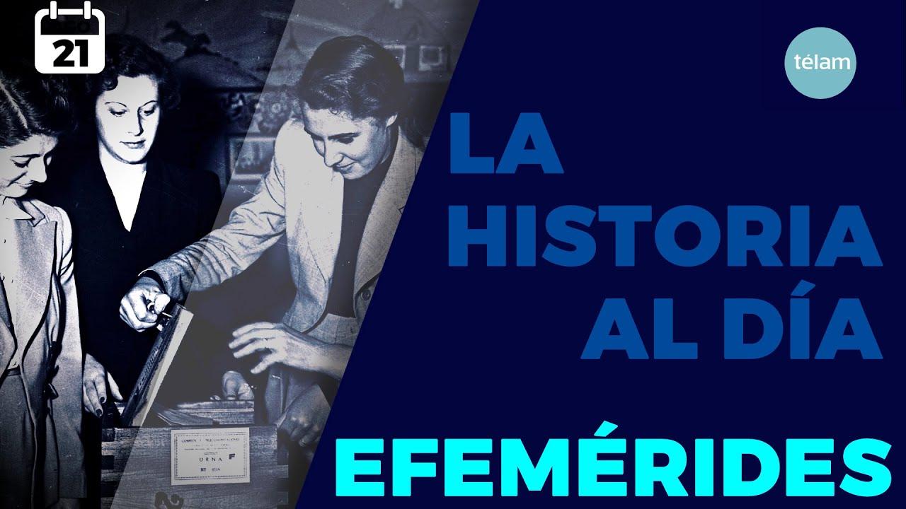 LA HISTORIA AL DÍA (EFEMÉRIDES 21 AGOSTO)