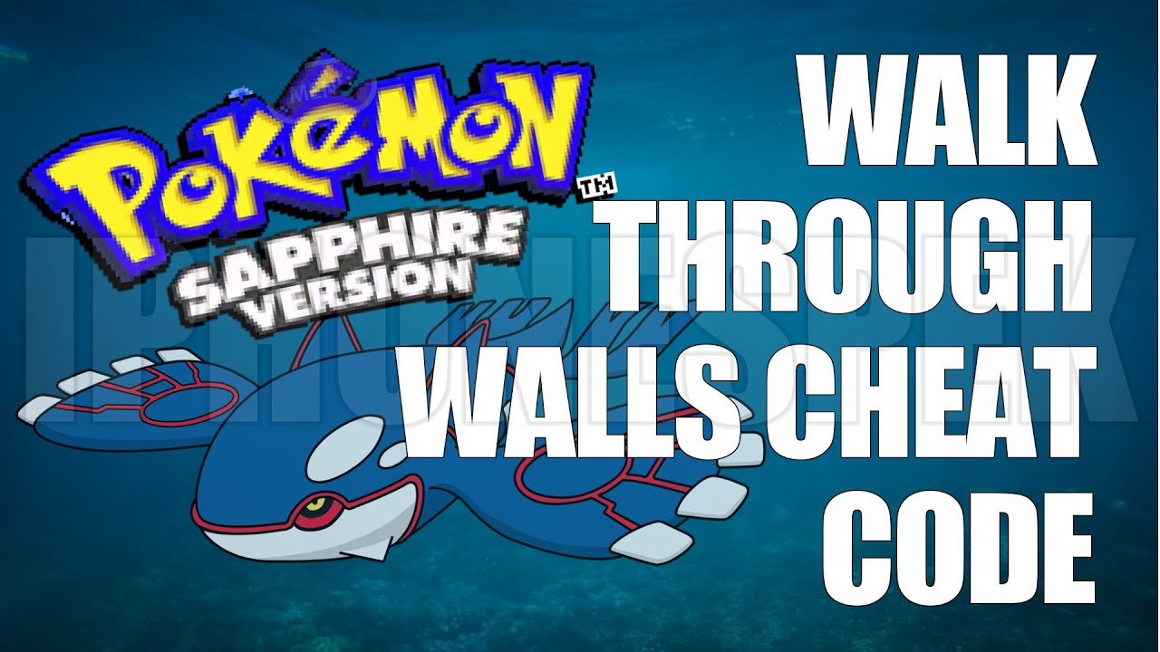 pokemon sapphire gameshark codes - 1280×720