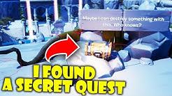 I Found A Secret Quest in the NEW Fortnite Creative Hub!