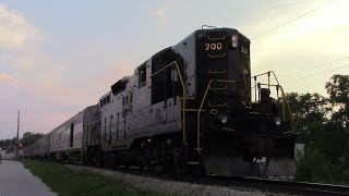 The Indiana State Fair Train, CSX, and NS 264 Doing 60!