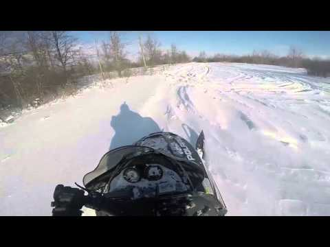 out for a rip on my 05 polaris 700 xc sp