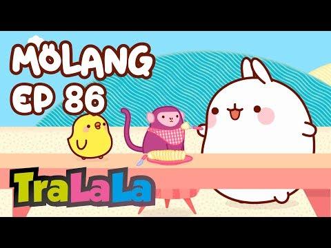 Cantec nou: Molang - Maimutica (Ep. 86) Desene animate | TraLaLa