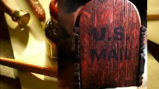Aging Of Surface #6: Country Style Rustic Mailbox With Metal Forging
