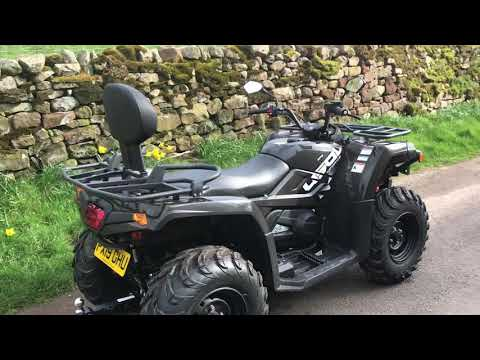 Quad bike tracker and immobilisation to brand new unit