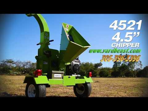 "Yardbeast 4521 4.5"" - 624cc Wood Chipper"