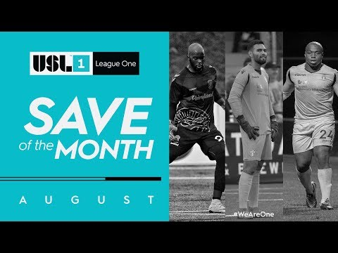 USL League One Fans' Choice Save of the Month - August