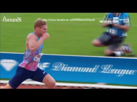 Kevin Mayer triathlon Paris 2017 (PB on javelin and hurdles)