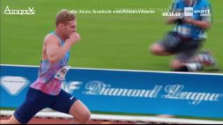 Kevin Mayer triathlon Paris 2017 (PB on javelin and hurdles)