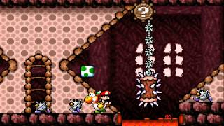 Let's Play NEW! SMW2 Yoshi's Island [YI-Hack] - Part 17 - Durcheinander im Dunkeln
