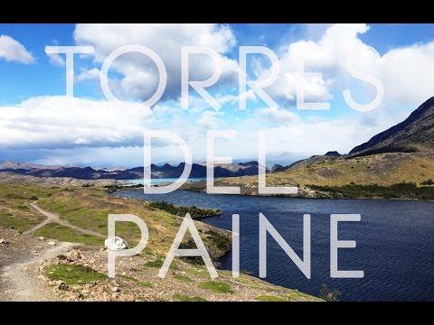 Torres del Paine National park, Patagonia, Chile ., Travel film