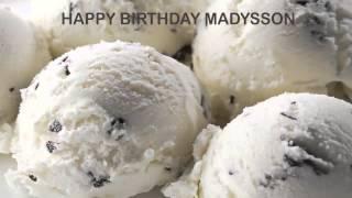 Madysson   Ice Cream & Helados y Nieves - Happy Birthday