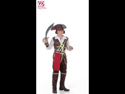 Caribische piraat kind