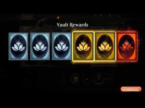 What happens when you unlock the Vault in Magic the Gathering Arena