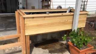 Elevated Wicking Bed