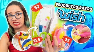 PROBANDO PRODUCTOS BARATOS DE WISH *Me estafaron parte 2* 😭 ✄ Craftingeek