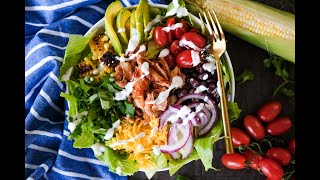 Salad Recipe: EASY BBQ Chicken Salad by Everyday Gourmet with Blakely