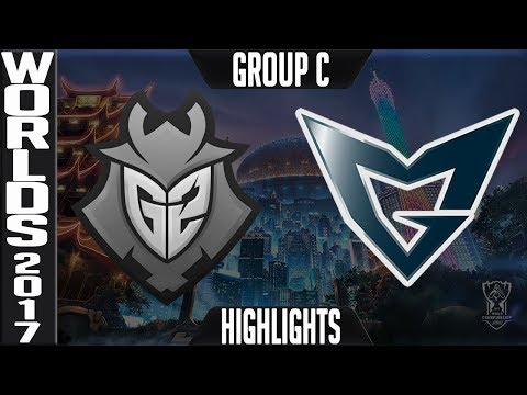 G2 vs SSG Highlights S7 Worlds 2017 Group Stage Day 1 Game 2 Group C   G2 Esports vs Samsung Galaxy