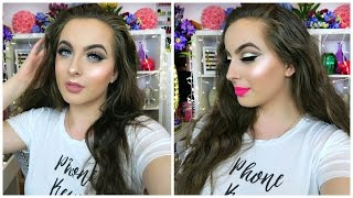 Neutral Glam Prom Makeup Tutorial 2016