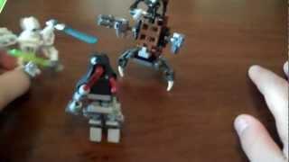 custom lego star wars cyborg maul minifig, no legos damaged!