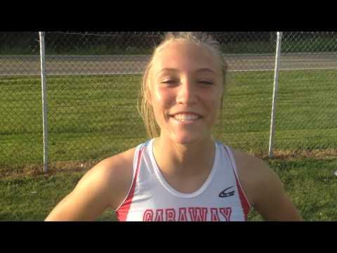Garaway's Pole Vaulter Roxy Dunn - Div. III Regional Champ - Post-meet interview