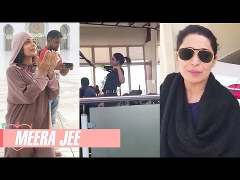 Meera's First Vlog Ever | Pakistani Actress Meera Jee | Visit to Dubai