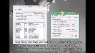 How to Overclock AMD E1-1500 APU and Radeon HD 7310 *THEORICAL OC WITH K10STAT*