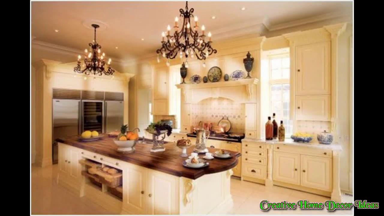 Decorating Above Kitchen Cabinets Ideas - YouTube