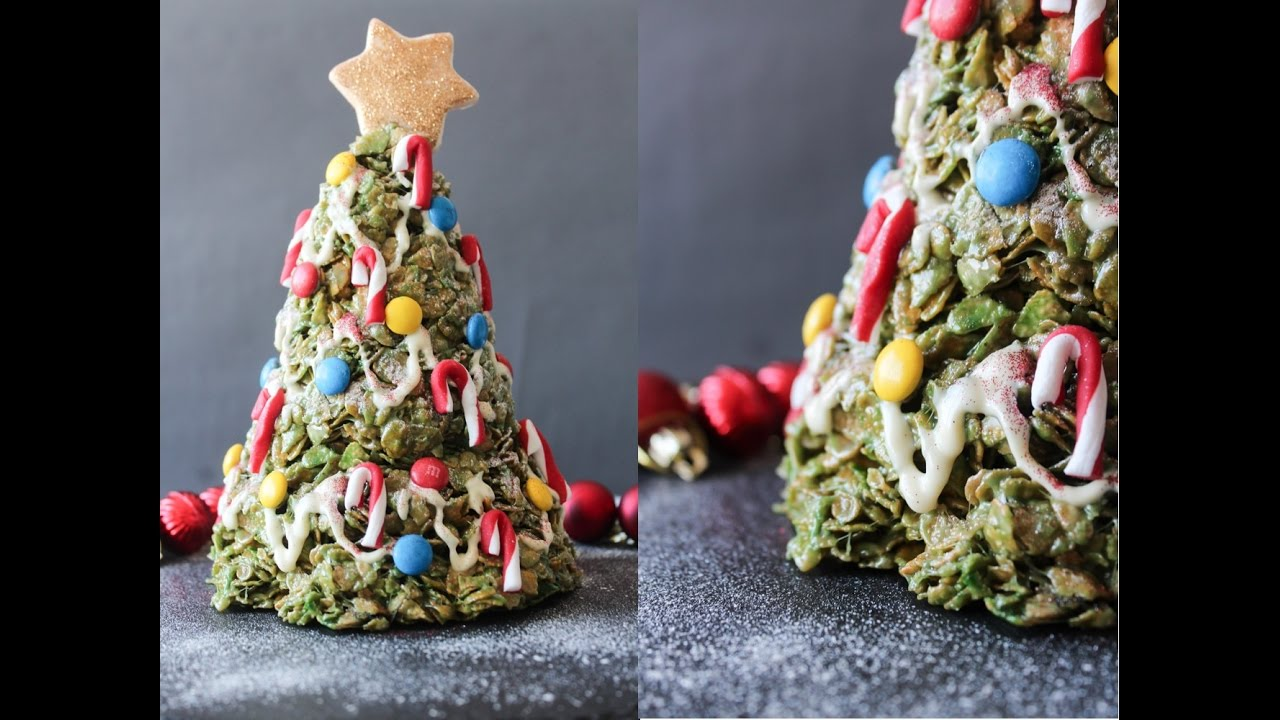 How To Make An Edible Christmas Tree - Christmas Collab - By One ...