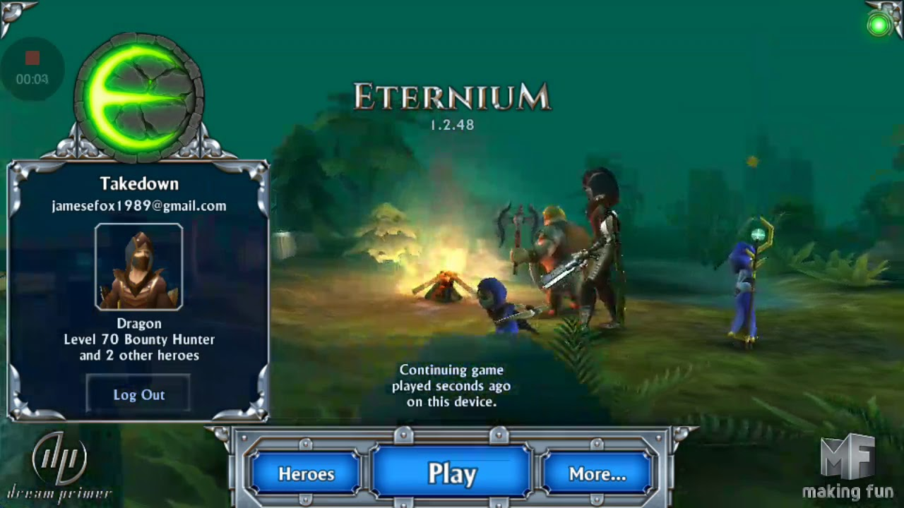 Eternium Mage and minions  Bounty Hunter attack skills level 9-10 by d4  gaming