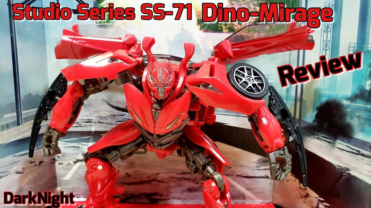 Transformers Studio Series SS71 Dino/ Mirage by DarkNight Reviews
