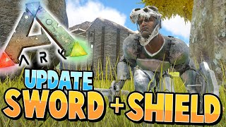 ARK: Survival Evolved | SWORD and SHIELD UPDATE + QUETZAL FAIL! | S2Ep31 |