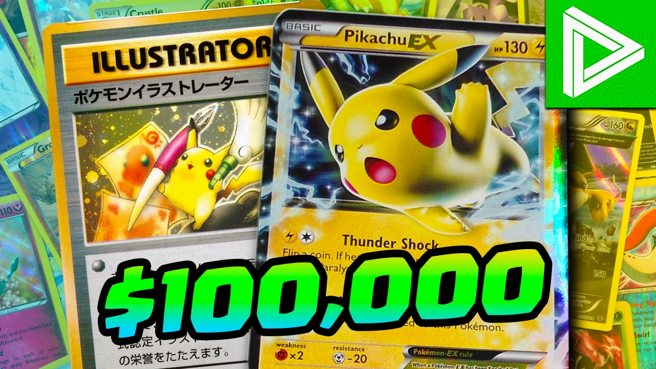 Top 10 Rarest and Most Expensive Pokemon Cards - YouTube