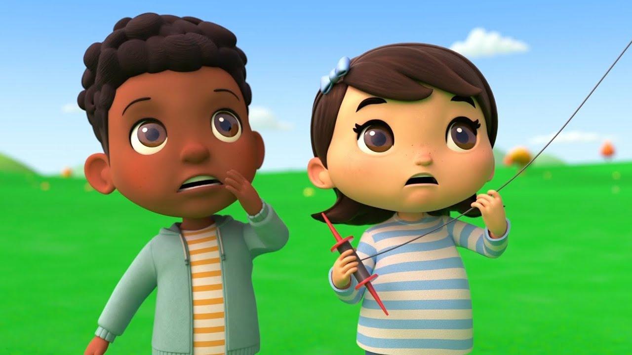 Spooky ABC Song | @Lellobee City Farm - Cartoons & Kids Songs | Lellobee