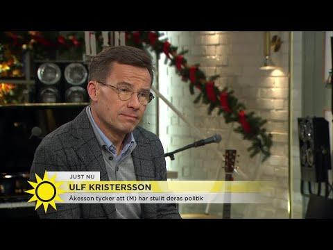 """Kristersson: """"Bostadspolitiken måste fungera"""" - Nyhetsmorgon (TV4)"""
