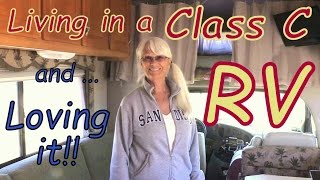 Solo Woman Joyfully living in a Class C thumbnail