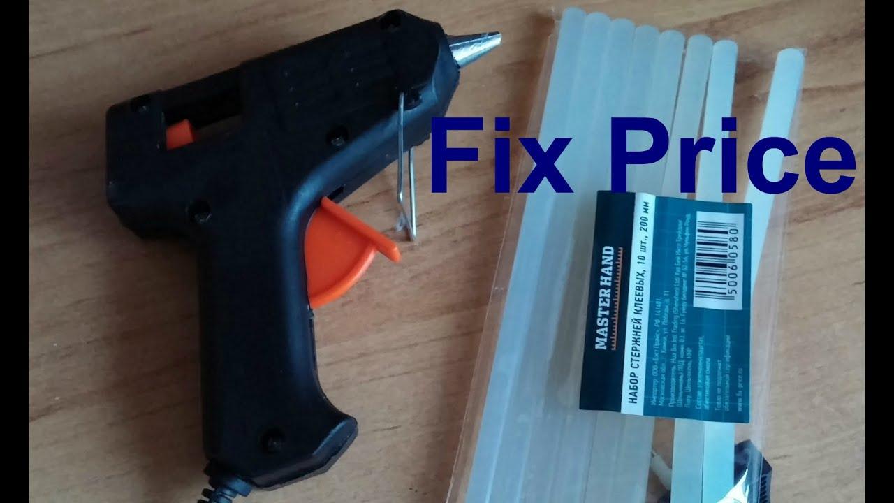 Инструкция клей для пистолета