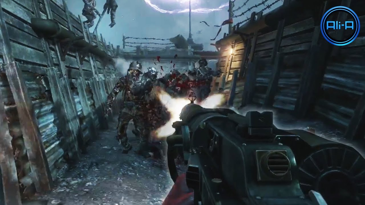 "Black Ops 2 ""ORIGINS"" Zombies ""APOCALYPSE"" Trailer Map Pack 4"