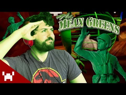WE ARE MEAN AND GREEN! | The Mean Greens w/ Ze, Chilled, GaLm, & Tom