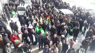 HDP Özalp ve Saray da adaylarını tanıttı